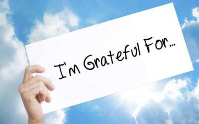 """Keeping an """"Attitude of Gratitude"""""""